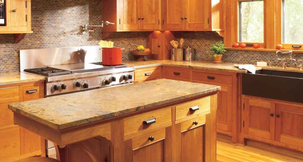 Kitchen Countertop. Kitchen Counter Top